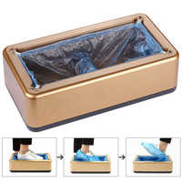 Protective Overshoe Machine Portable Mechanical Disposable Dustproof Cleaning Hygiene Home Office Automatic Shoe Cover Machine