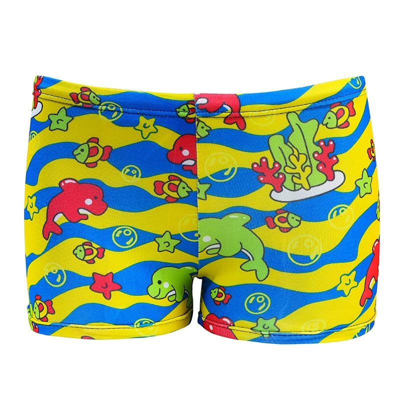 2019 New Style Children Baby Swimming Trunks Men And Women Children Boxer Swimming Trunks Printed Cute Cartoon Swimming Trunks