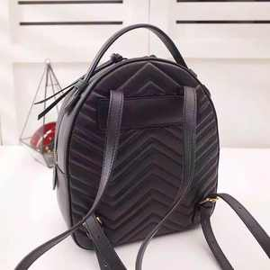 Women Backpack Real-Leather High-Quality Luxury New-Style Fashionable