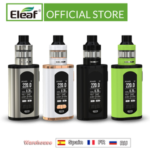 Image 1 - USA/France Warehouse Original Eleaf Invoke with ELLO T kit 220W 1.3 inch Screen 0.2ohm HW3/0.3ohm HW4 Coil E Cig