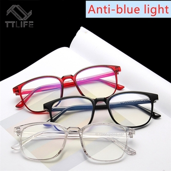 TTLIFE Light Glasses Men Computer Glasses Gaming Goggles Transparent Eyewear Frame Women Anti Blue ray Eyeglasses YJHH0413 цена 2017