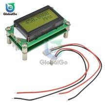 DC 9-12V 1MHz-1,2 GHz RF contador de frecuencia Digital Cymometer PLJ-0802-E 0802 LCD pantalla para Radio 1-1200mhz Kit de bricolaje