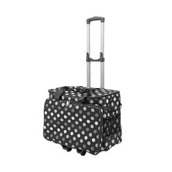 Bolsas de almacenamiento de tela Oxford duraderas para máquina de coser bolsa de viaje con carrito de gran capacidad para uso doméstico bolsa de máquina de coser multifuncional