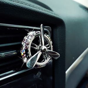 Image 5 - 1 Pcs 100 Original Car Air Freshener Solid Auto Perfume with Crystal DIY Car Air Vent Smell for BMW for Toyota Universal Type