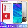 Original Bildschirm für Huawei P smart 2019 LCD Display Digitizer Montage Touch Display gelten Huawei P smart 2019 POT-LX1 LX1AF