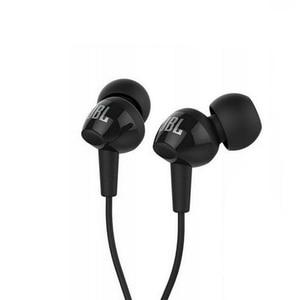 Image 2 - Nowy oryginalny JBL C100Si 3.5mm przewodowe słuchawki douszne Stereo głęboki bas muzyczny zestaw słuchawkowy sport Running słuchawki douszne z mikrofonem