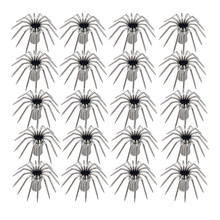 20x Stainless Steel Squid Jig Umbrella Hooks for Sleeve Fish Shrimp DIY Fishing Tools(China)