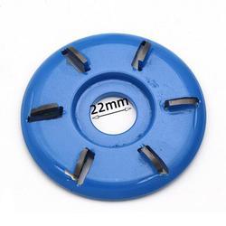 90mm średnica 22mm otwór obrotowy strugarka czarny zakrzywione ostrze moc tarcza do rzeźbienia w drewnie szlifierka kątowa załącznik narzędzie akcesoria|Części do narzędzi|   -