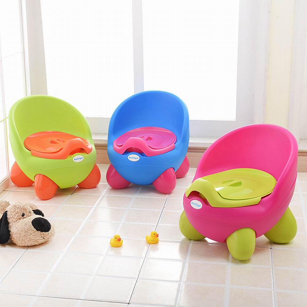 Thicken Baby Toilet Plastic Infant Toilet Children Cartoon Baby Toilet For Bedpan Urine Basin Sit Implement 0 To 3 Years Old