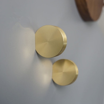 Copper Cabinet Knobs and Handles Round Drawer Knobs Kitchen Handles Cabinet Pulls Solid Brass Furniture Knob mahogany furniture solid wood dining side of ming and qing dynasties tea cabinet classical chinese rosewood cabinet bowl of win