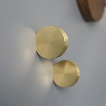 Copper Cabinet Knobs and Handles Round Drawer Knobs Kitchen Handles Cabinet Pulls Solid Brass Furniture Knob