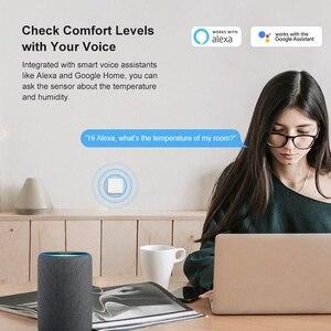 Для Sonoff SNZB 02 датчик температуры и влажности, уведомление в режиме реального времени, дистанционный монитор для умного дома|Автоматизация зданий|   | АлиЭкспресс