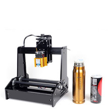 Laser Engraving Machine Cutting Plotter Engraver Stainless Steel 15W Normal Desktop Portable Universal Automatic Day Cola Small
