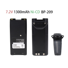 1300mAh Replacement Two-Way Radio Battery BP-209 BP-210 BP-222 BP-209N BP-210N BP-222N for ICOM Radios C-A6 IC-A24 IC-V8