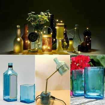 DIY New Glass Bottle Cutter Tool Professional Bottles Cutting Glass Bottle-cutter Adjustable Cuting Machine Wine Beer