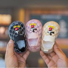 Socks Shoes Mickey Baby Autumn Disney Spring Toddler Girls Boys Non-Slip Soft-Soled Trendy