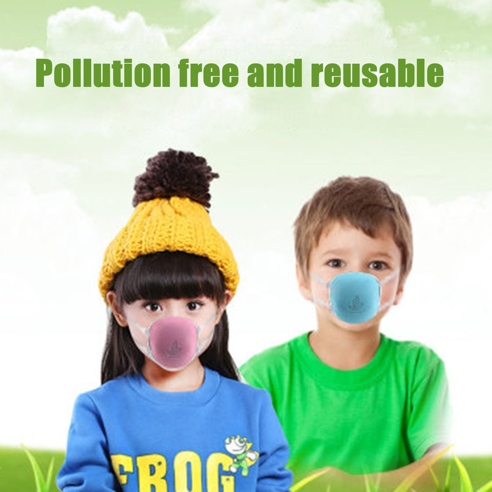 Children'S Anti-Dust And Dustproof Pm2.5 Electric Air Supply Mask Dust-Proof Pm2.5 Anti-Odor Anti-Pollen Allergy