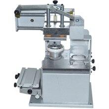 Manual Pad Printing Press Machine Company Logo Printer Equipment Single Color Oil Stamping  Design Die Board Pad Head JYS100-100