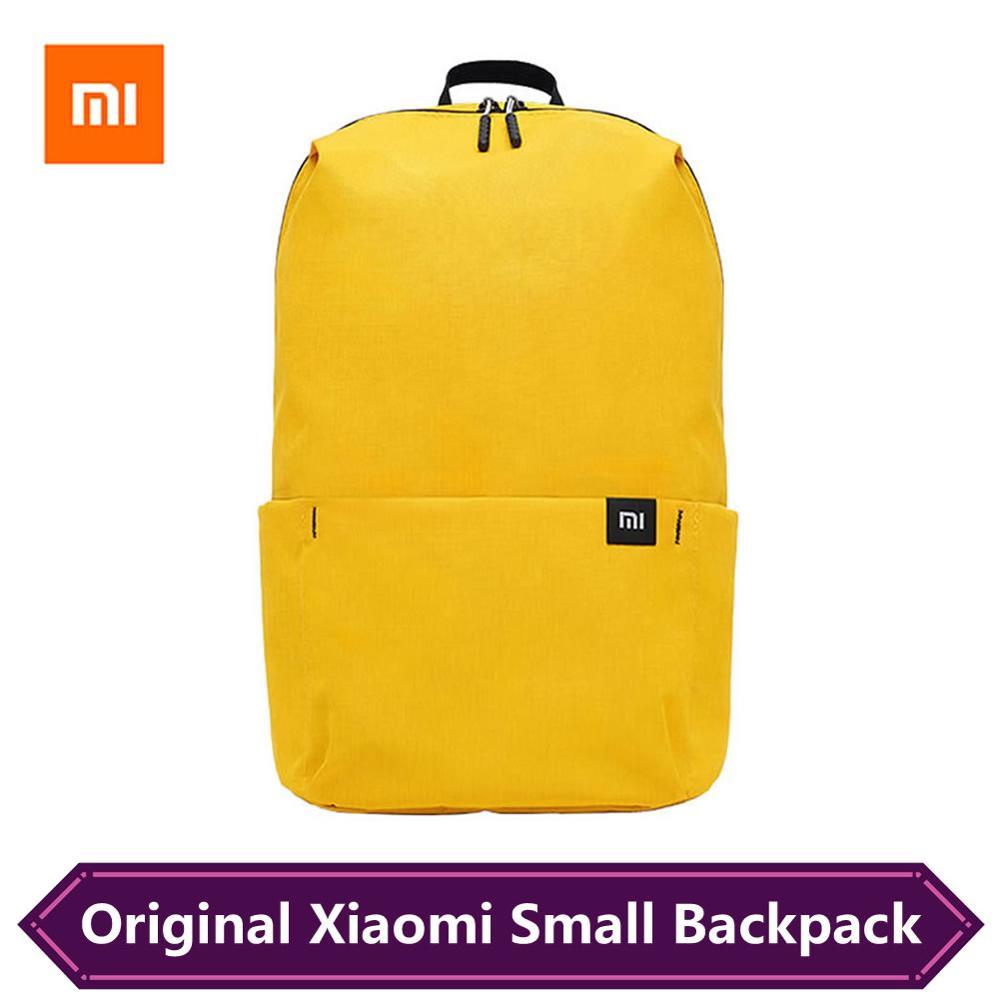 Original Xiaomi Small Backpack 10L Bag Waterproof Colorful Urban Daily Leisure Men Women Sports Bag Mi Backpack 8 Colors