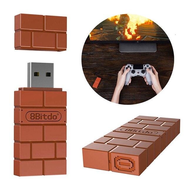 10 יח\חבילה 8 8bitdo USB אלחוטי Bluetooth מתאם מקלט עבור Windows Mac עבור Nintend מתג עבור PS3 בקר חדש