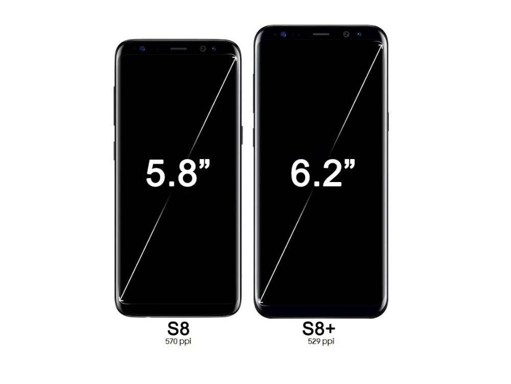 AAA ORIGINAL SUPER AMOLED S8 LCD with frame for SAMSUNG Galaxy S8 G950 G950F Display S8 Plus G955 G955F Touch Screen Digitizer