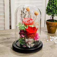 10*12 см, 10*18 см, диаметр = 10 см, высота = 12 см, 18 см, черная основа, стеклянная купольная ваза, украшение для дома, стеклянный купольный купол, подарок другу, свадебный подарок