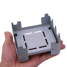 Portable Foldable Mini Camping Stove Solid Fuel Wax Burner Outdoor Picnic Alcohol Stove Cookware Camping Equipment