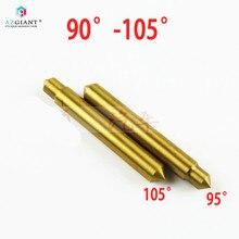 1pc doppel kopf 95 grad/105 grad Titan überzogen tracer sonde guide pin für Defu vertikale schlüssel geschnitten maschine schlosser