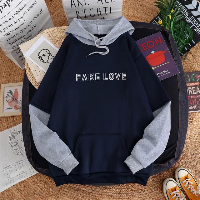 FAKE LOVE THEMED HOODIE (6 VARIAN)