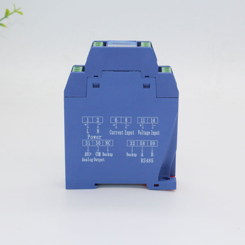 DC0-48V 50V 100V 150V 200V 300V 400V 500V 600V DC <font><b>voltage</b></font> transmitter single phase V transducer 4-20mA 0-10V 0-5V 0-20mA RS485 image
