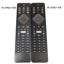 Used Original for Philips TV Remote Control RC GE017 420 RC APG17 420 with Keyboard Fernbedienung