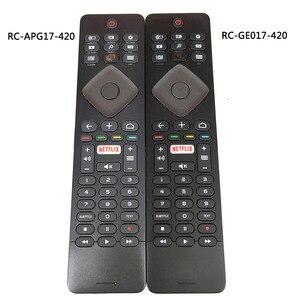 Image 1 - Verwendet Original für Philips TV Fernbedienung RC GE017 420 RC APG17 420 mit Tastatur Fernbedienung