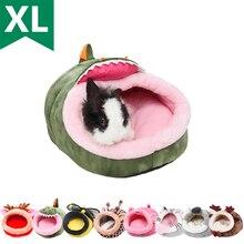 Домик для домашних животных морские свинки хорьки хомяки Ежи кролики голландские крысы супер теплая Высококачественная маленькая кровать ...