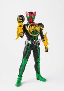 "Image 4 - ""Kamen Rider OOO"" Original BANDAI SPIRITS Tamashii Nations S.H. Figuarts / SHF Action Figure   Masked Rider OOO TaToBa Combo"