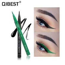 QIBEST 12 kolorów eyeliner eyeliner stempel eyeliner płynny eyeliner długotrwały eyeliner wodoodporny magnetyczny eyeliner TSLM1 tanie tanio Ołówek Długotrwała Łatwe do noszenia Szybkie szybkie suche Naturalne Inne CHINA ------ 0 6ml 1Pcs eyeliner pencil 12 Colors