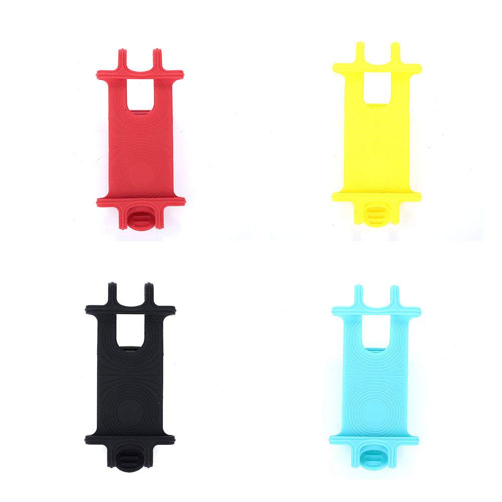 Bicycle <font><b>Phone</b></font> <font><b>Holder</b></font> Durable Practical 4 Color Silicone <font><b>Bike</b></font> Part Electric Motorcycle Outdoor Cycling Tools Movement image