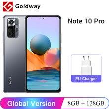 Versión Global Xiaomi Redmi Note 10 Pro 8GB 128GB Smartphone 108MP Quad Cámara Snapdragon 732G 6,67