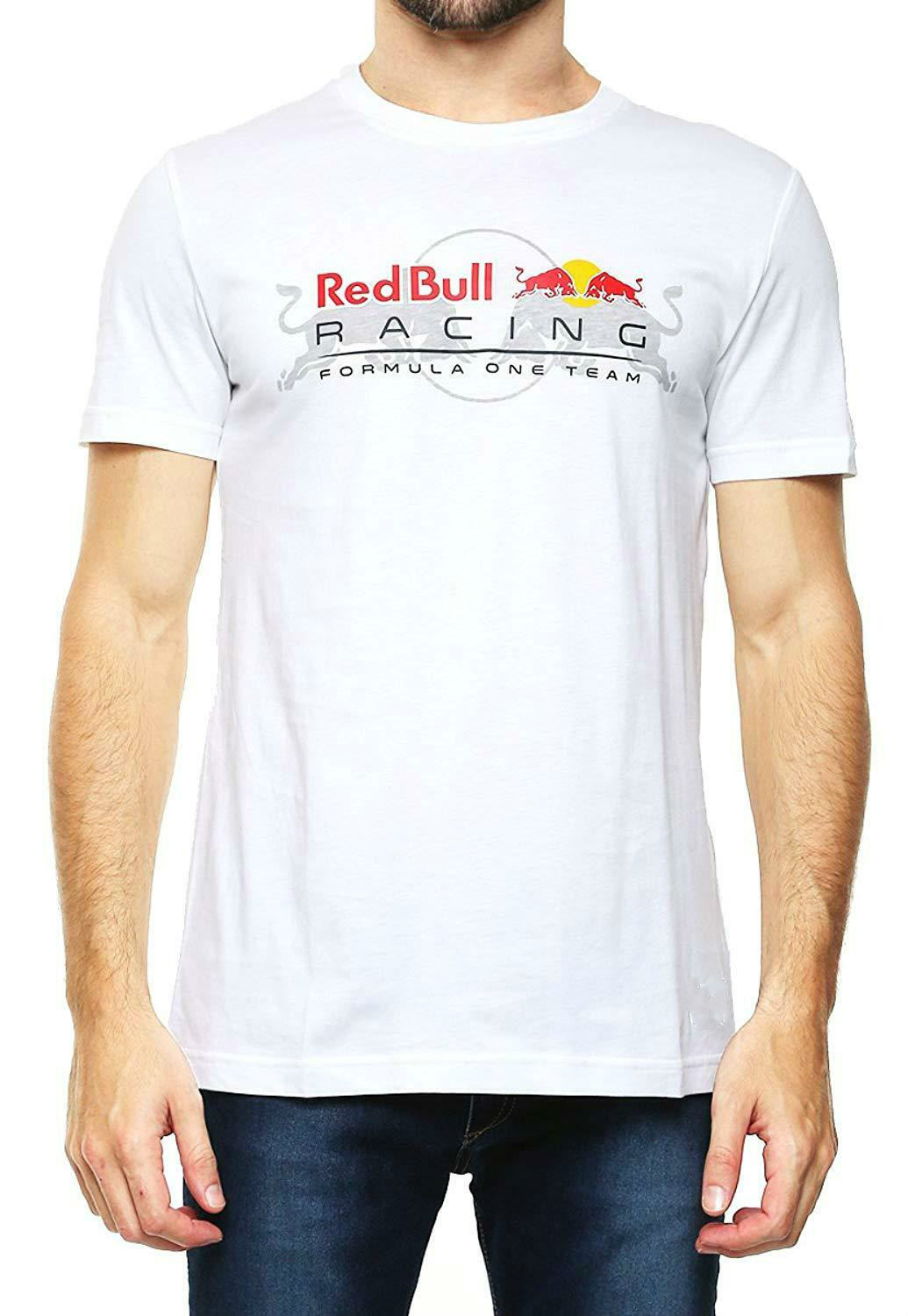 New Rbr Red Racing Bull Formula -1 Team Mens Tee Motorsport T Shirt Streetwear Size S-3Xl