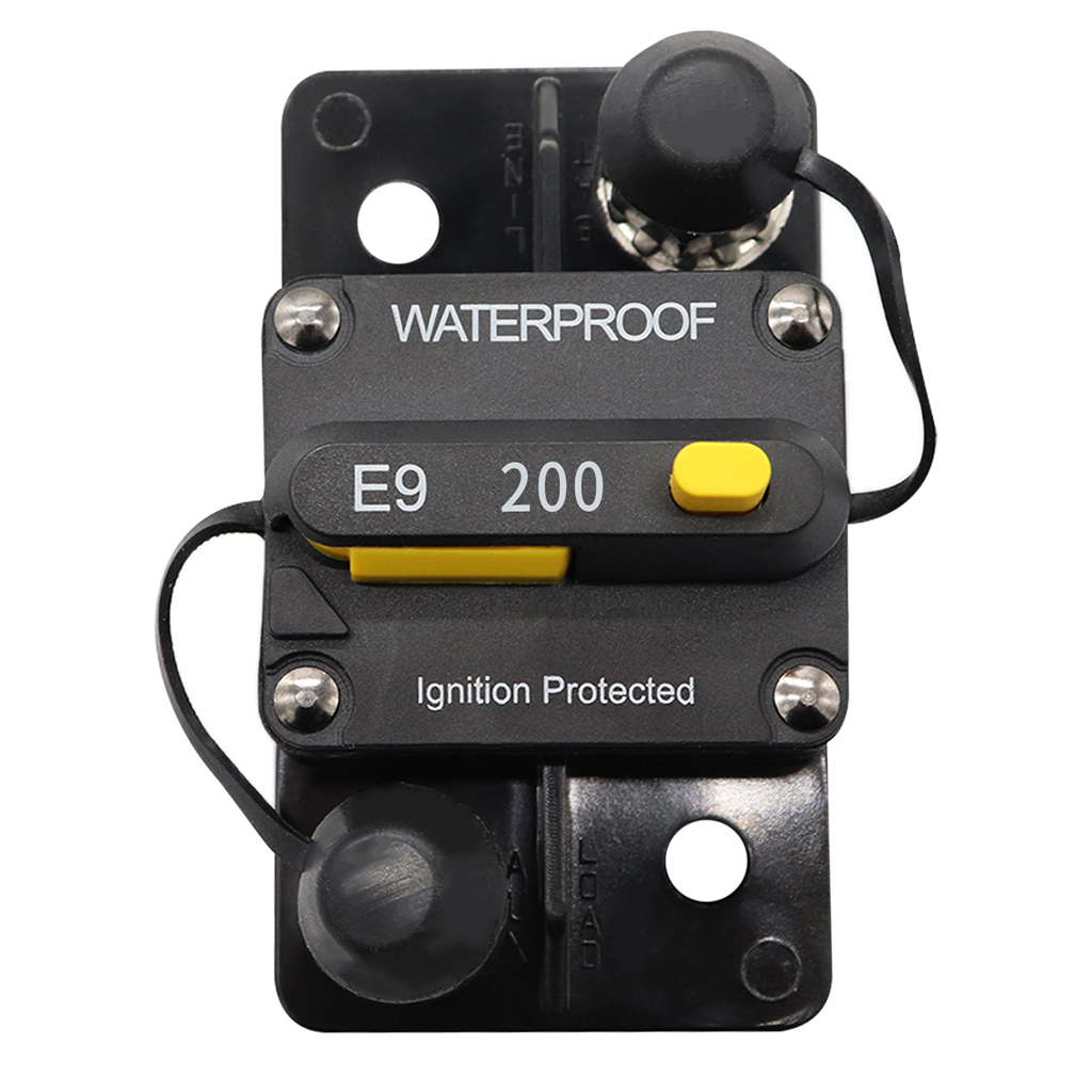 Circuit Breaker Switches Fuse Trolling With Manual Reset Parts 12V To 24V 80A