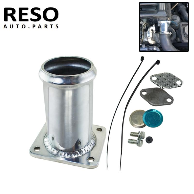 Aluminum EGR Delete Removal Kit Blanking Bypass For BMW E46 318d 320d 330d 330xd 320cd 318td 320td