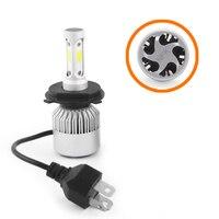 bulb 12v SHUOKE 2 PCS S2 Car Super LED Headlight COB Chip 12V 30W 45W 2.8A 3800LM 6000K HB3 9005 HB4 9006 H1 H4 H7 H11 LED Car Light Bulb (5)