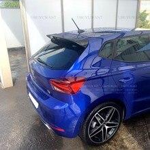 Uuyuwant – becquet arrière en plastique ABS noir de haute qualité pour Seat IBIZA TGI/FR, aileron de toit arrière de voiture, décoration d'aile de queue 2017 – 2020