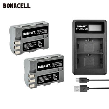 Bonacell 2000mAh EN-EL3e pl EL3e EL3a ENEL3e bateria + LCD podwójna ładowarka dla Nikon D300S D300 D100 D200 D700 D70S D80 L70 tanie i dobre opinie Kamera Standardowa bateria 7 2V Li-ion Replacement Batteries Batteries Only 1 year warranty for Camera 7 2V Battery 2600mAh