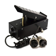 2+3 Pins Amperage Controller Foot Pedal  for TIG Welding Machine Plasma Cutter Power Control Equipment