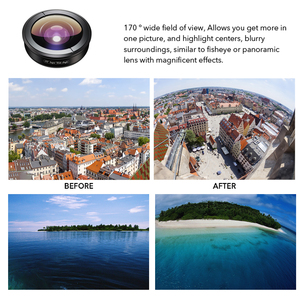Image 2 - Apexel 光電話レンズ hd 170 度超広角レンズカメラ光学レンズ iphonex xs 最大 xiaomi すべてスマートフォン