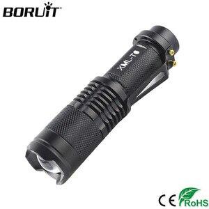 BORUiT 602 T6 LED Flashlight 1