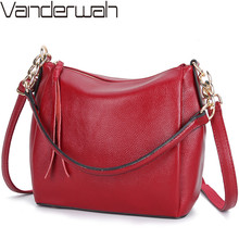 Crossbody Bags For Women Soft Leather Handbags Vintage Women Shoulder Messenger Bags Designer Sac Top handle Bag Bolsas Feminina