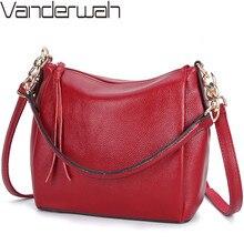 Bolsos de bandolera para mujer bolsos de cuero suave Vintage de mujer bolsos de bandolera de diseñador bolsa con asa superior Bolsas femeninas