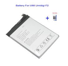 Batterie de remplacement de téléphone portable pour UMI Umidigi F2, 1x5150mAh, Kits d'outils de réparation