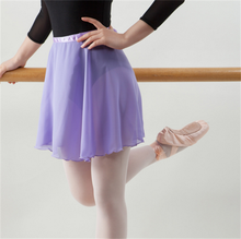 USHINE Ballet Dance Skirt Chiffon Pure Color Floral Print Practice Leotard Ballet Dance Dress Woman girls unisex man woman ballet turnboard adult pirouette ballet turn card practice spin dance board training practice circling tools